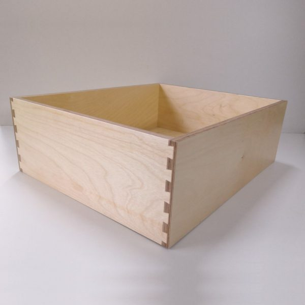 Birch Ply Drawer Box