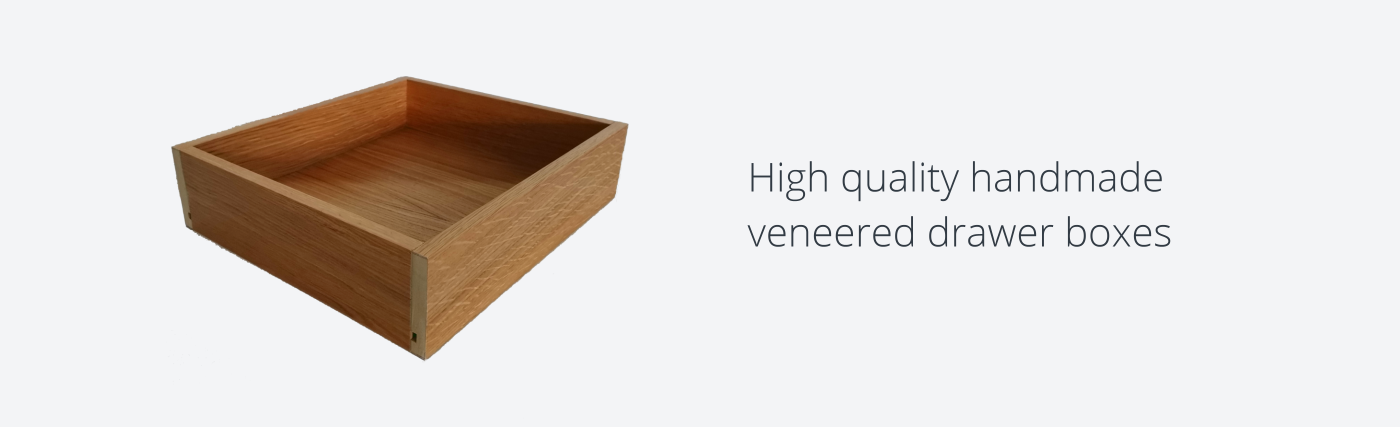 Veneer Drawer Boxes